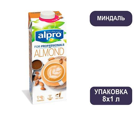 Коробка ALPRO Professionals Миндальный напиток. Тетра пак. 1 литр