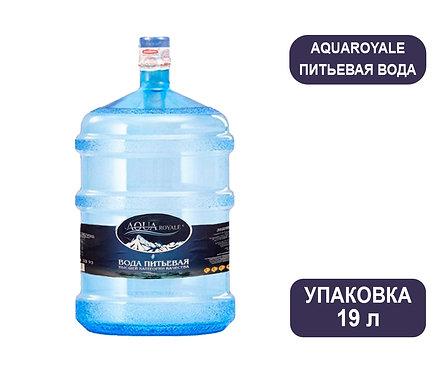Вода AQUAroyale. Кулерная негазированная. 19 л