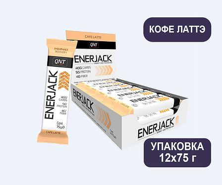 Упаковка Батончиков QNT Enerjack. Кофе Латтэ. 75 г