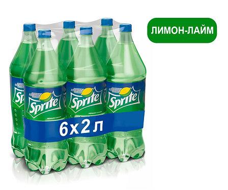 Упаковка Sprite. ПЭТ. 2 литра