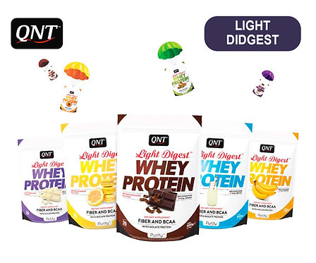 Упаковка QNT Light Didgest. 500 г. (12 вкусов)