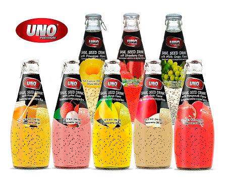 Упаковка UNO. Безалкогольный напиток. Стекло. 290 мл