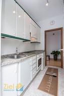 Apartmentküche mit eigenem Eingang