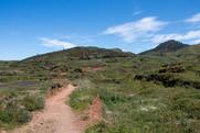 Landschaft bei Erjos