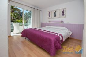 Schlafzimmer mit eigenem Sonnenbalkon