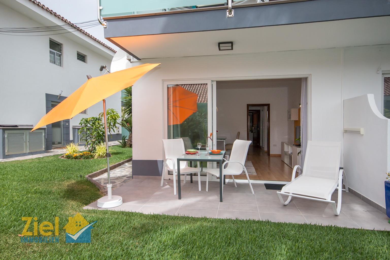 """Gartenterrasse von Apartamento """"Naranja"""""""