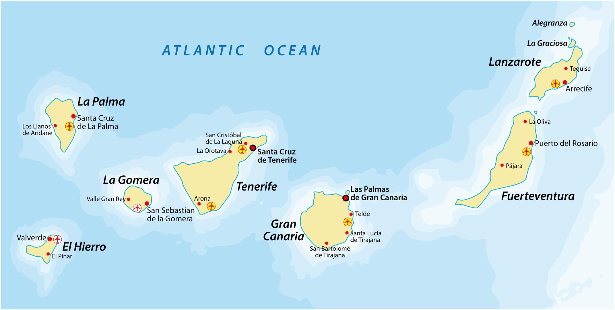 Kanarische Inseln - Teneriffa