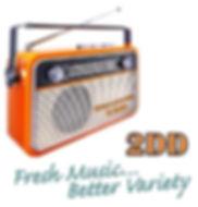 Radio 2DD Logo
