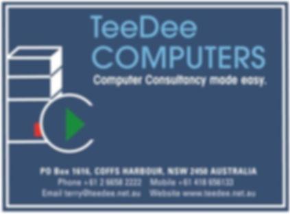Tee Dee Computers Logo