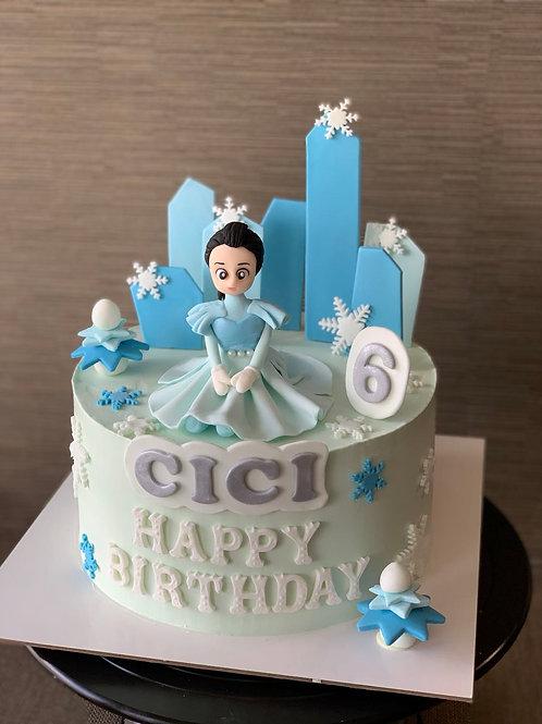 Fondant 3D Cake