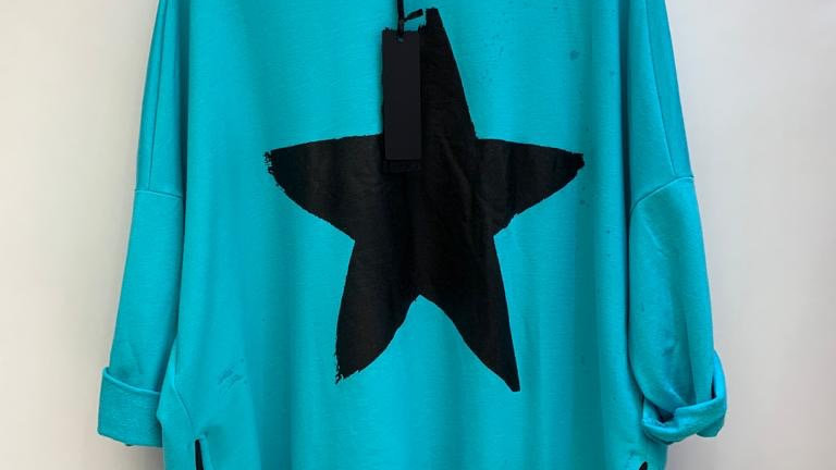 Neon Star Top