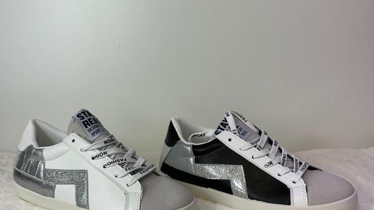 BE - Sport Trainer Black & White