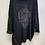 Thumbnail: Diamante Skull Tunic in Black