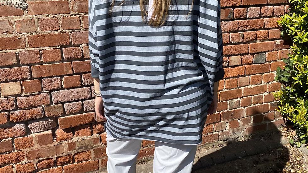 Grey Stripe Tunic