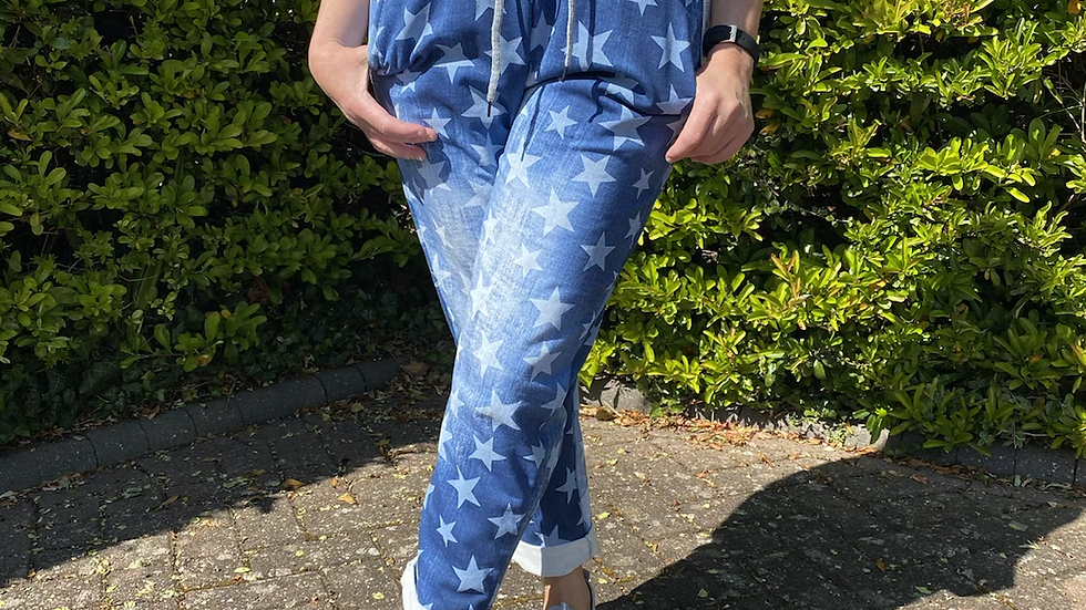 Patterned Joggers