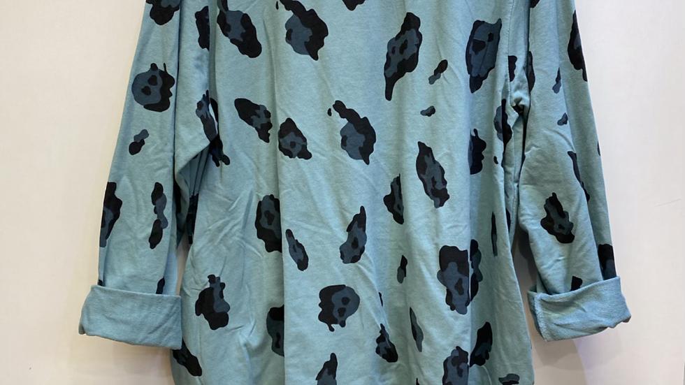 Leopard Print Dress Jumper