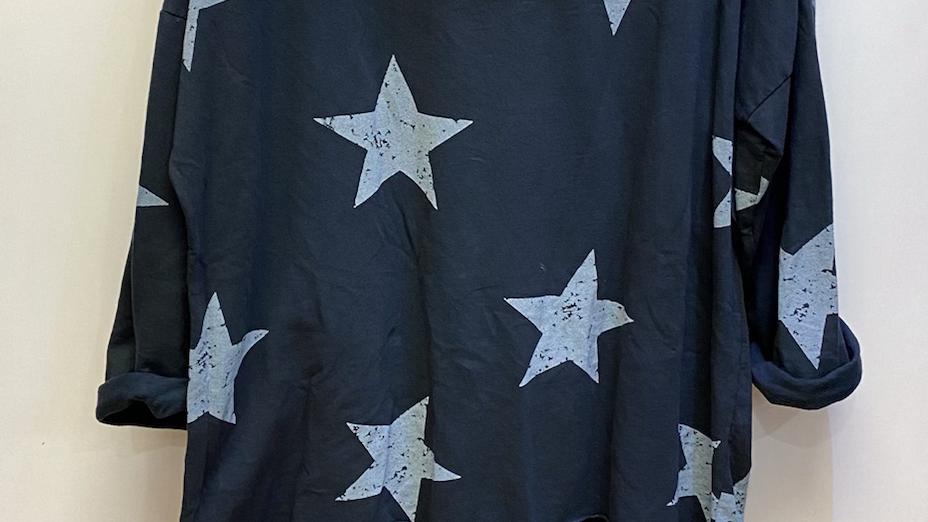 Star print lockdown Leisure Suit
