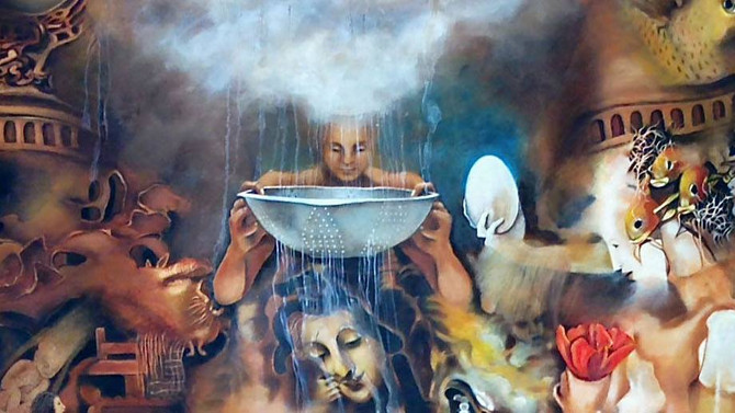 The LUSO - American Surrealism Now of the 21st Century Exhibit in Mississippi!