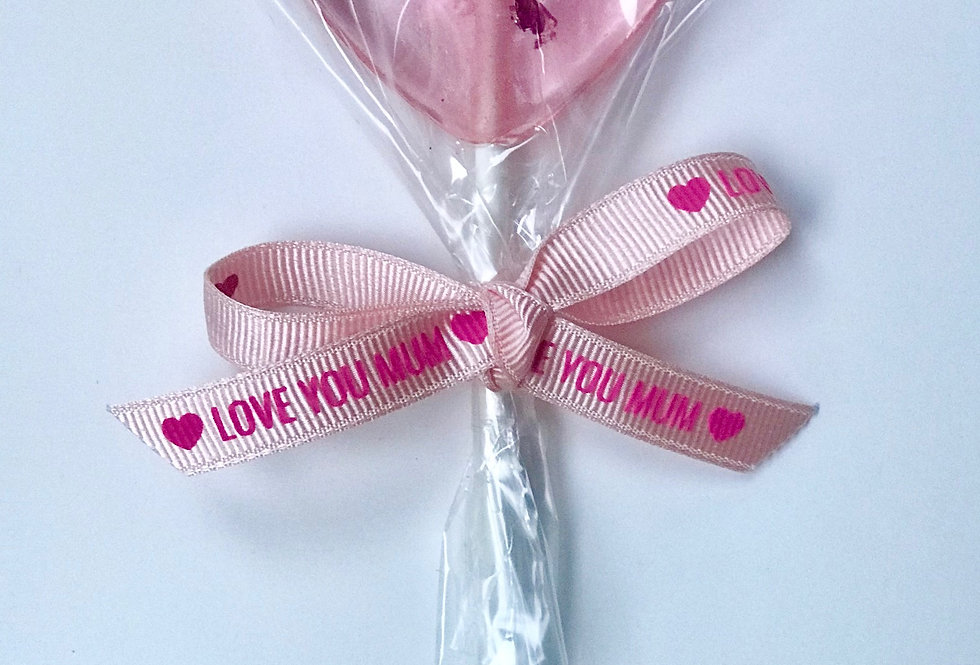 MOTHER'S DAY LOVE HEART (6 PIECES)