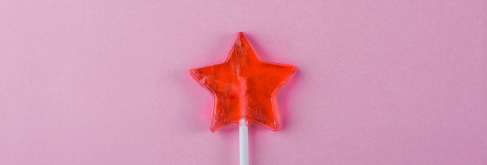 STAR LOLLIPOP (6 PIECES)
