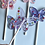 Thumbnail: BUTTERFLY (6 PIECES)