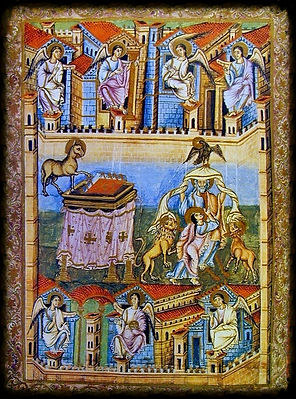 Frontispiece Book of Revelation Bible of