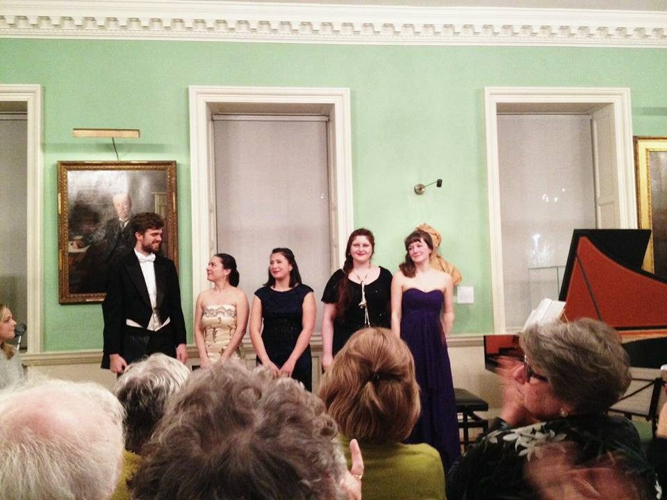 Handel Singing Competition 2015 Finalists' Concert, Musica da Camera. 23rd of March 2016 at the Foundling Musem with Josep-Ramon Olive, Ingrida Gapova, Maria Ostroukhov, and Alice Privett