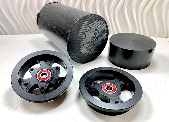 Acetal Delrin (POM) Hubs and Pulleys