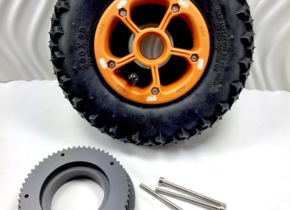 Pulleys to fit BMS Rockstar Pro and Rockstar II hubs