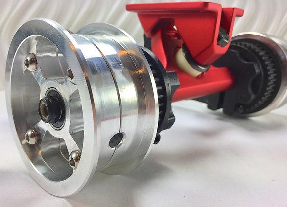 "Janux ""Quattro 4S"" Pneumatic wheels complete"