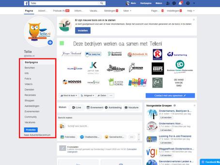 Grote layout verandering Facebook