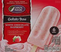open nature white chocolate raspberry ge
