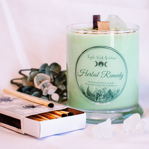 Herbal Healing Candle