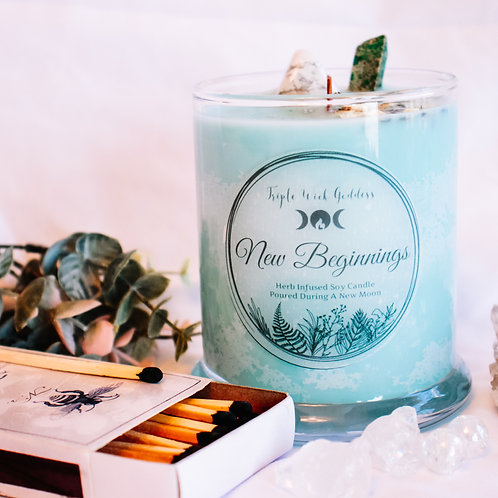 New Beginnings Candle