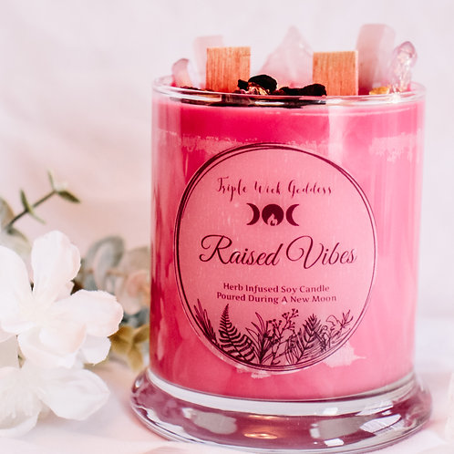 Raised Vibes Candle