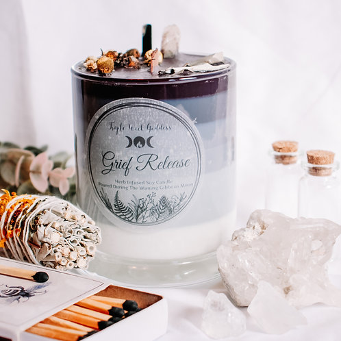 Dealing with Grief Candle