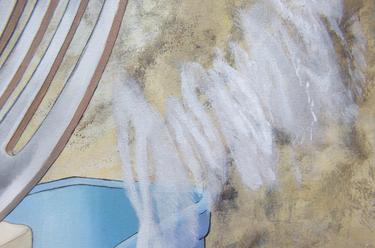[detalhe] Chuá, 2021 acrílica sobre tela 70 x 70 cm  Foto: Suellen Nascimento