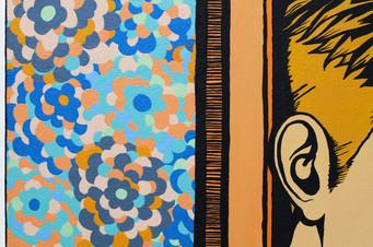 [detalhe] É como se fosse..., 2013 tinta pva sobre tela 60 x 80 cm  Foto: Suellen Nascimento
