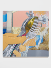 Chuá, 2021 acrílica sobre tela 70 x 70 cm  Foto: Suellen Nascimento Foto: Suellen Nascimento
