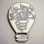 Série Lâmpadas - A Trilogia dos Sonhos, 2014 acrílica sobre MDF 40 x 27 cm
