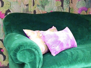 Fabulous 1930's restored couch