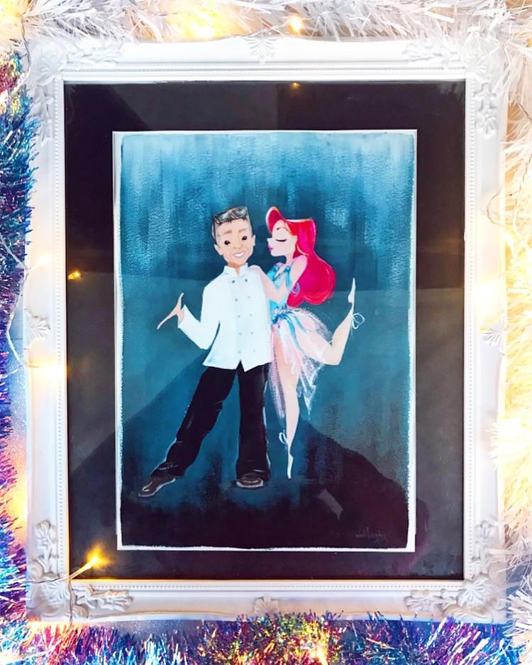 Jessie Wellington Illustration Couple Portrait