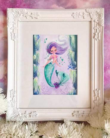 Jessie Welington Illustration Mermaid