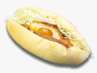 とろ~り卵のハムカツサンド(数量限定)