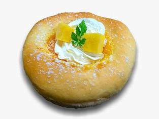 マンゴーカスタードクリームパン