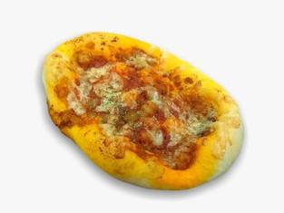 ミートチリビーンズピザ