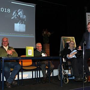 Uitreiking cultuurprijs Ut Pèèrd 2018