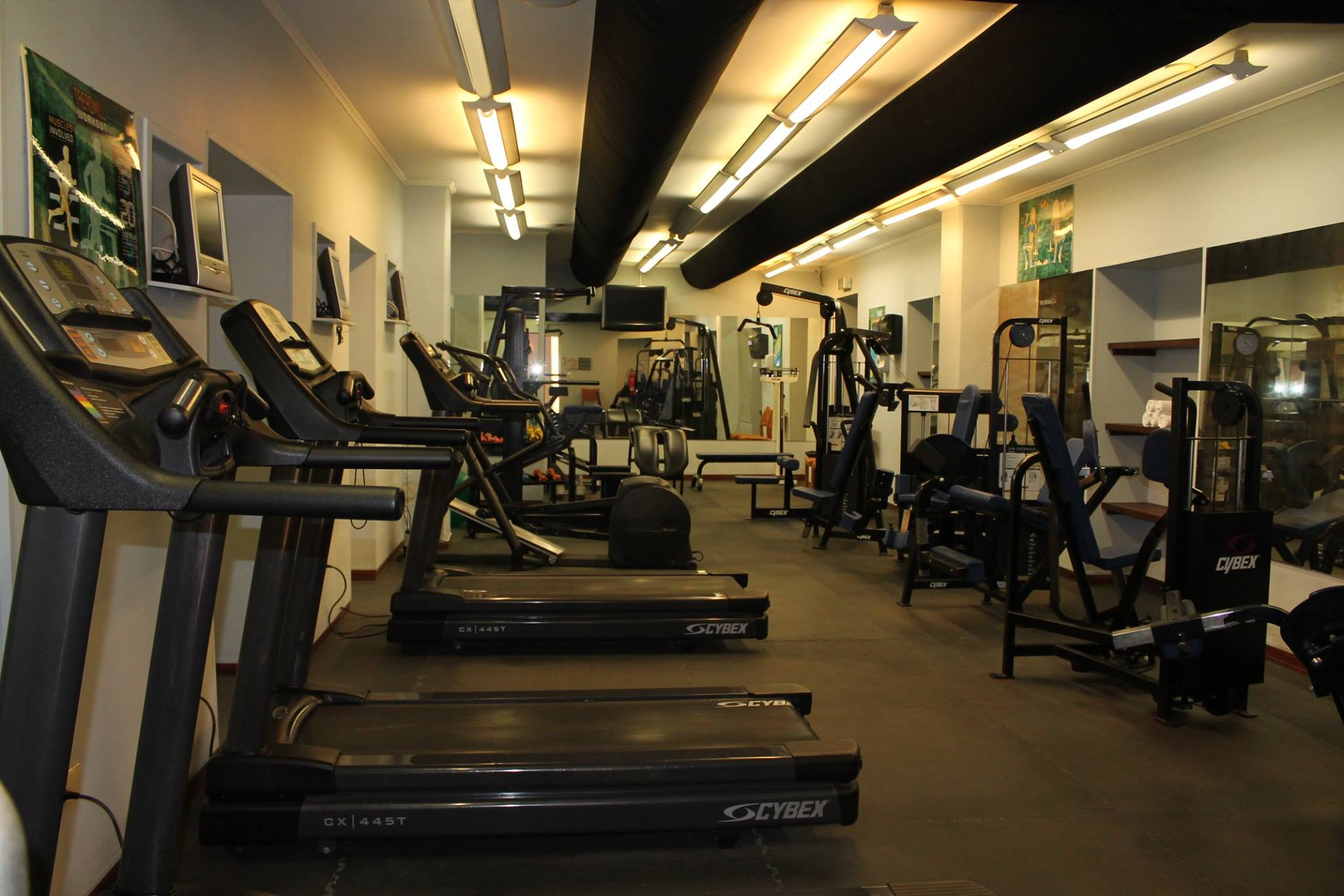 Fitness gym center curacao suites