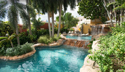 Eco pool next to curacao suites hote