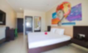 Curacao Airport Hotel Deluxe Kig bed room ocean view curazao aeropuerto willemstad
